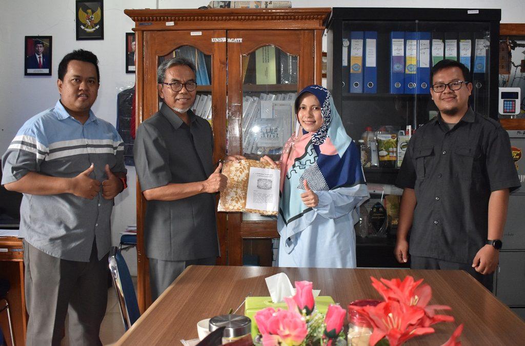 Persentasi Produk Batik Sains Karakter Ciwaringin