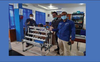 Keseimbangan Air Pada Sistem Inkubator Hidroponik